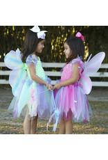 CREATIVE EDUCATION Butterfly Dress w/Wings & Wand, Pink/Multi, Size 5-6