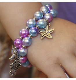 CREATIVE EDUCATION Mermaid Mist Bracelet 2-pc
