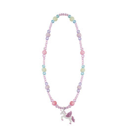 CREATIVE EDUCATION Prancing Unicorn/Pony Necklace Asst.