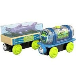 MATTEL T&F: Wood Aquarium Cars