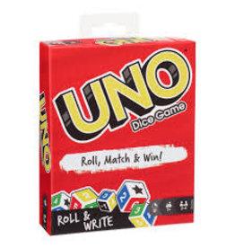 MATTEL Uno: Roll & Write Dice Game