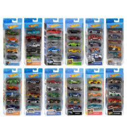MATTEL Mattel Hot Wheels 5 Pack
