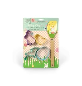 Handstand Kitchen Spring Fling Cookie Cutter Set with Spatula