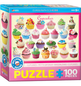 EUROGRAPHICS Cupcakes - Kids Sweets