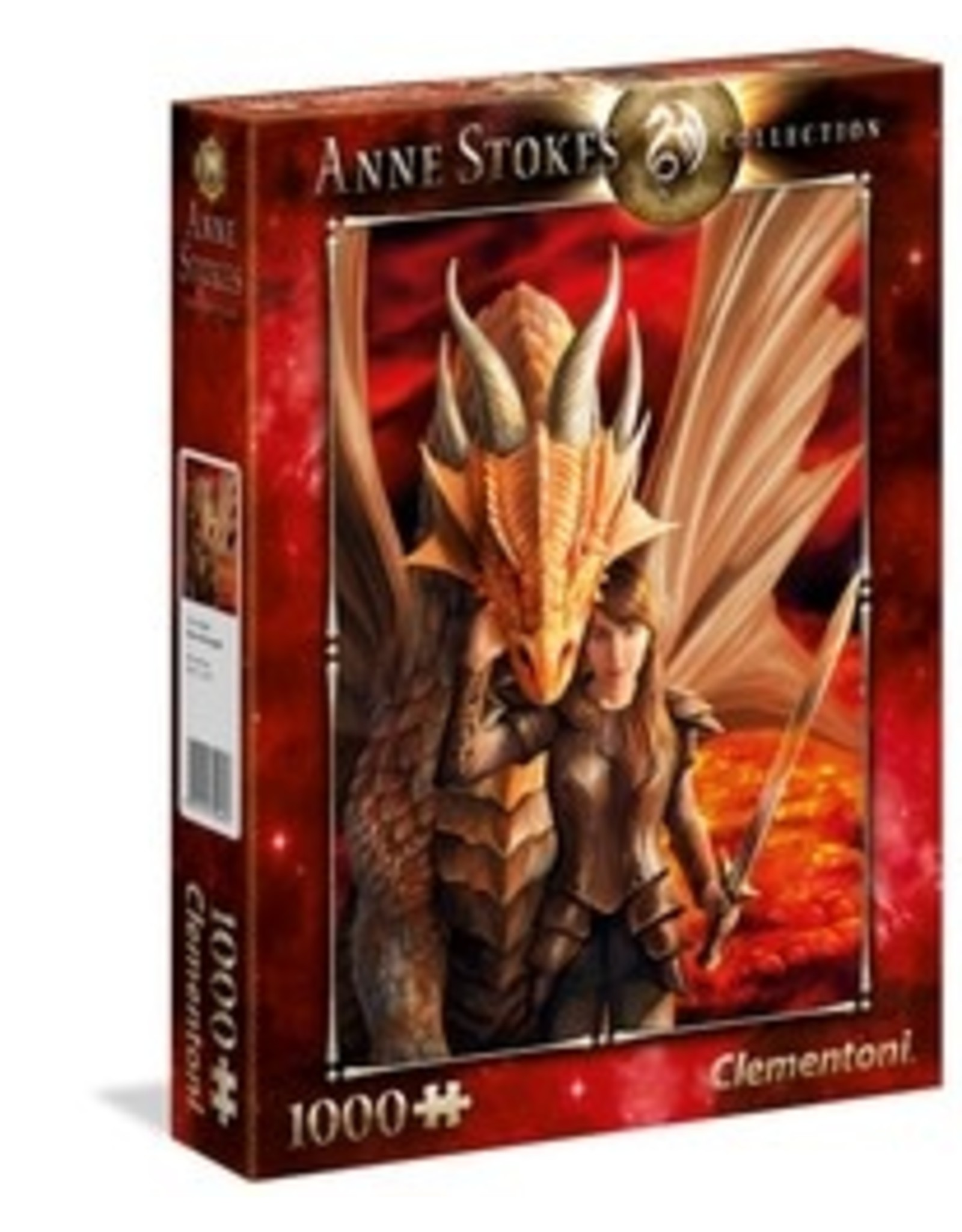 Clementoni Puzzles Anne Stokes Collection - Inner Strength, 1000 pc