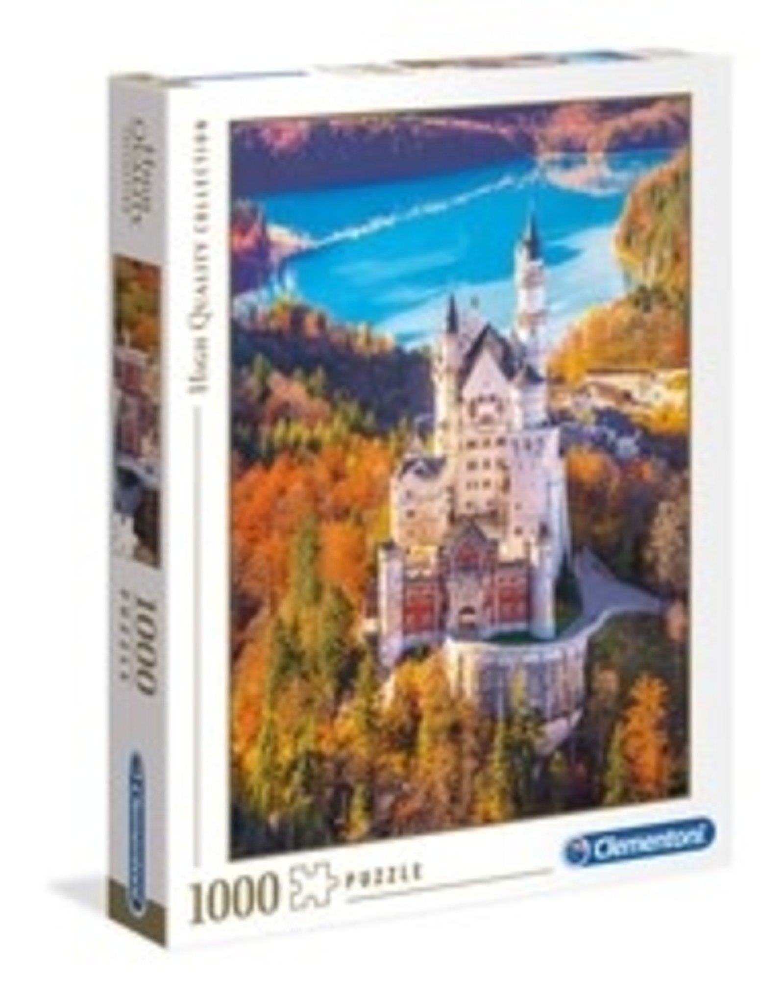 Clementoni Puzzles Neuschwanstein, 1000 pc puzzle