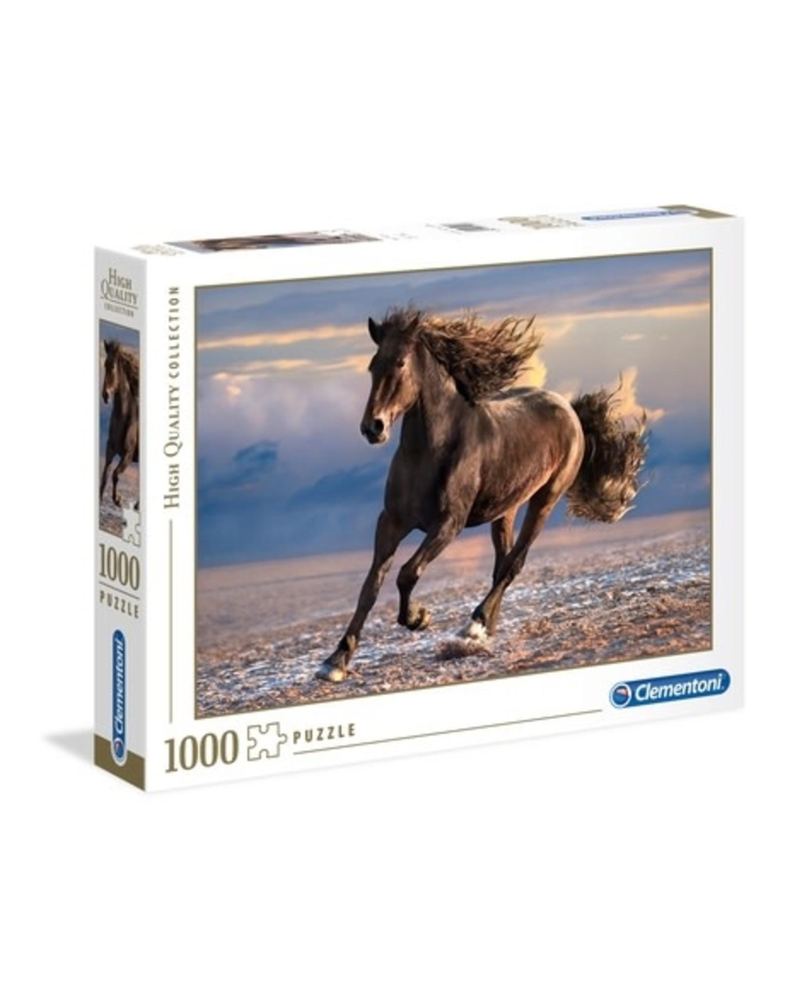 Clementoni Puzzles Free Horse, 1000 pc. puzzle - NEW