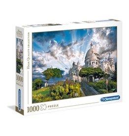 Clementoni Puzzles Montmartre, 1000 pc puzzle