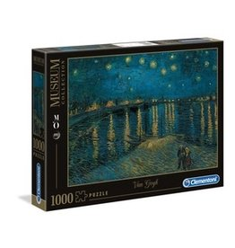 Clementoni Puzzles Starry Night Over the Rhone - 1000 pc puzzle