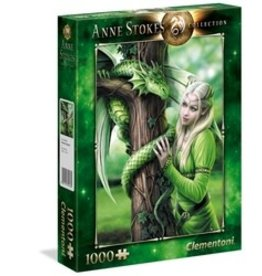 Clementoni Puzzles Ann Stokes - Kindred Spirits, 1000 pc puzzle - NEW
