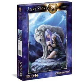 Clementoni Puzzles Anne Stokes - Protector, 1000 pc puzzle - NEW