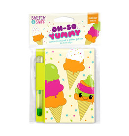 SCENTCO INC Oh So Yummy Note Pads: Rainbow Sherbet