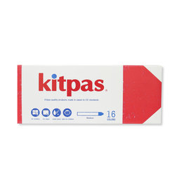 Kitpas Kitpas Art Crayons - 16 Colors