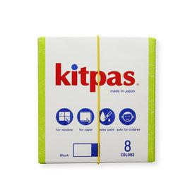 Kitpas Kitpas Art Crayons Blocks 8 Colors