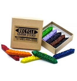 Crazy Crayons Recycle Sticks Crayon - 10 Box