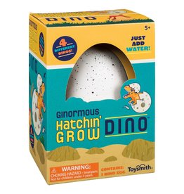 TOYSMITH Ginormous Grow Dino Egg