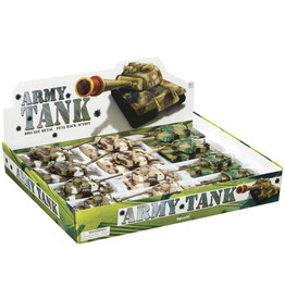 TOYSMITH Pull Back Army Tanks