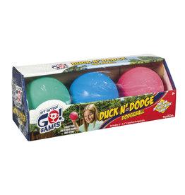 TOYSMITH Duck N Dodge Dodgeball Set