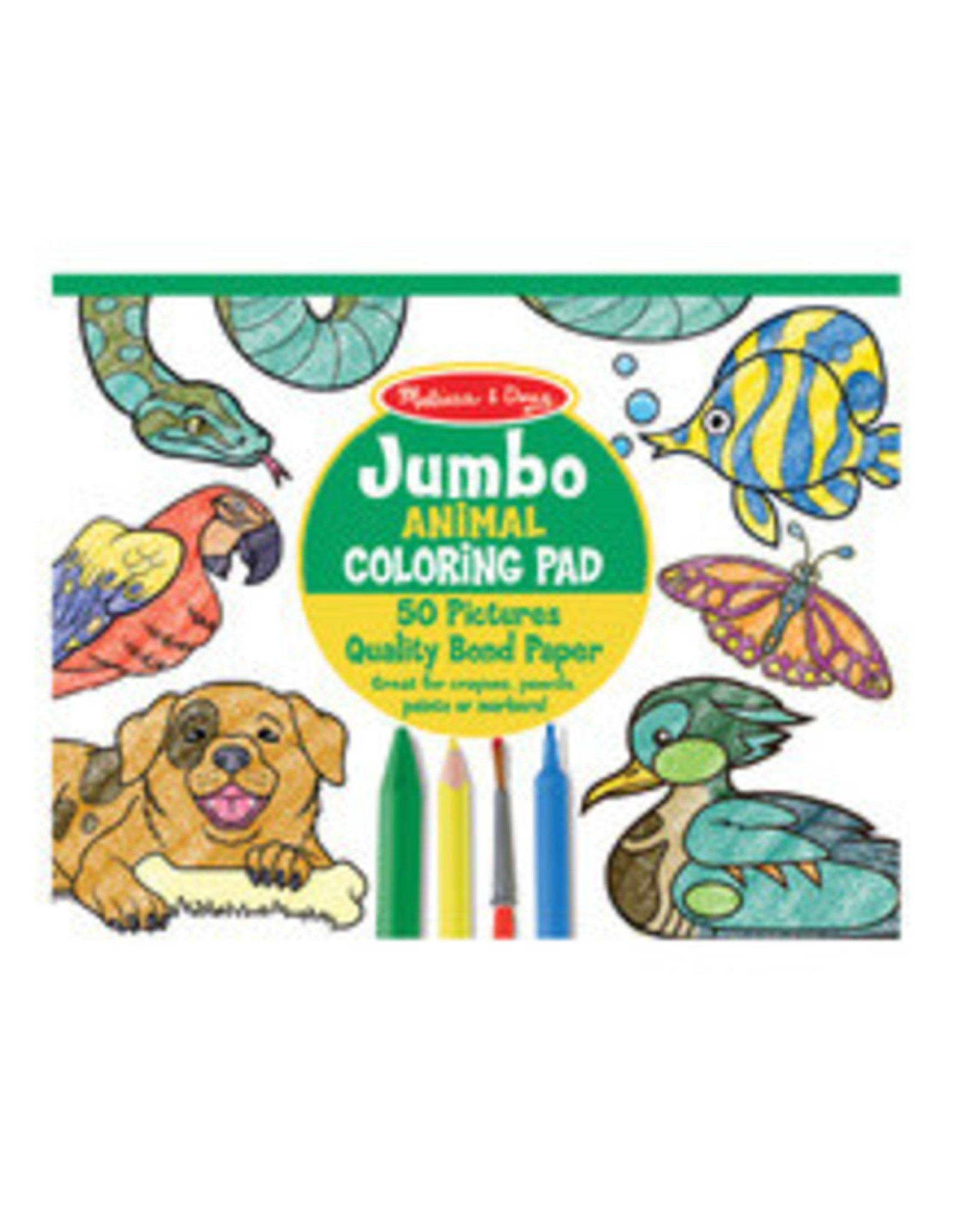 MELISSA & DOUG COLORING PAD-ANIMALS