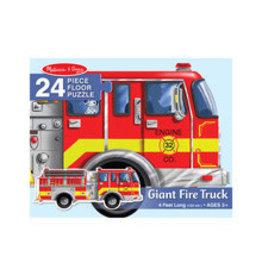 MELISSA & DOUG Giant Fire Truck Shaped Puzzle