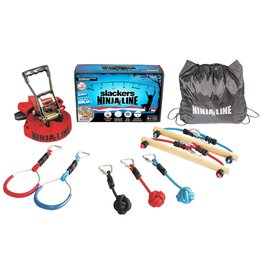 B4Adventure Slackers - Ninjaline Intro Kit- 36 ft., 7 obstacles