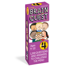 WORKMAN PUBLISHING BRAIN QUEST GRADE 4