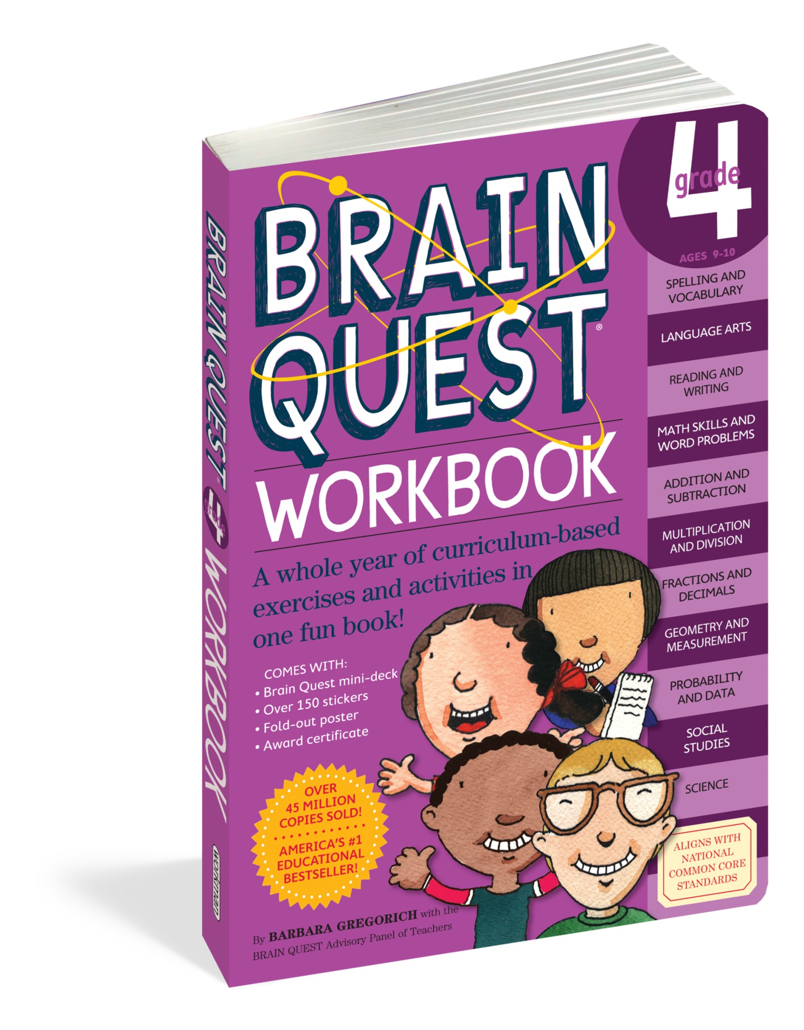 WORKMAN PUBLISHING BQ: WKBK: GRADE 4-PAP