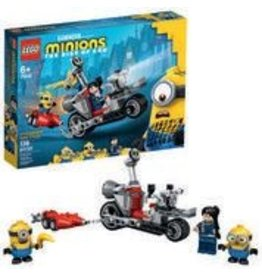 Lego Minions Unstoppable Bike Chase