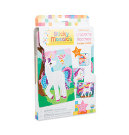 ORB FACTORY Sticky Mosaics® Travel Pack Unicorns