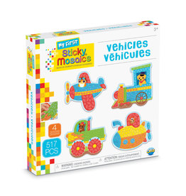 ORB FACTORY My First Sticky Mosaics® Vehicles