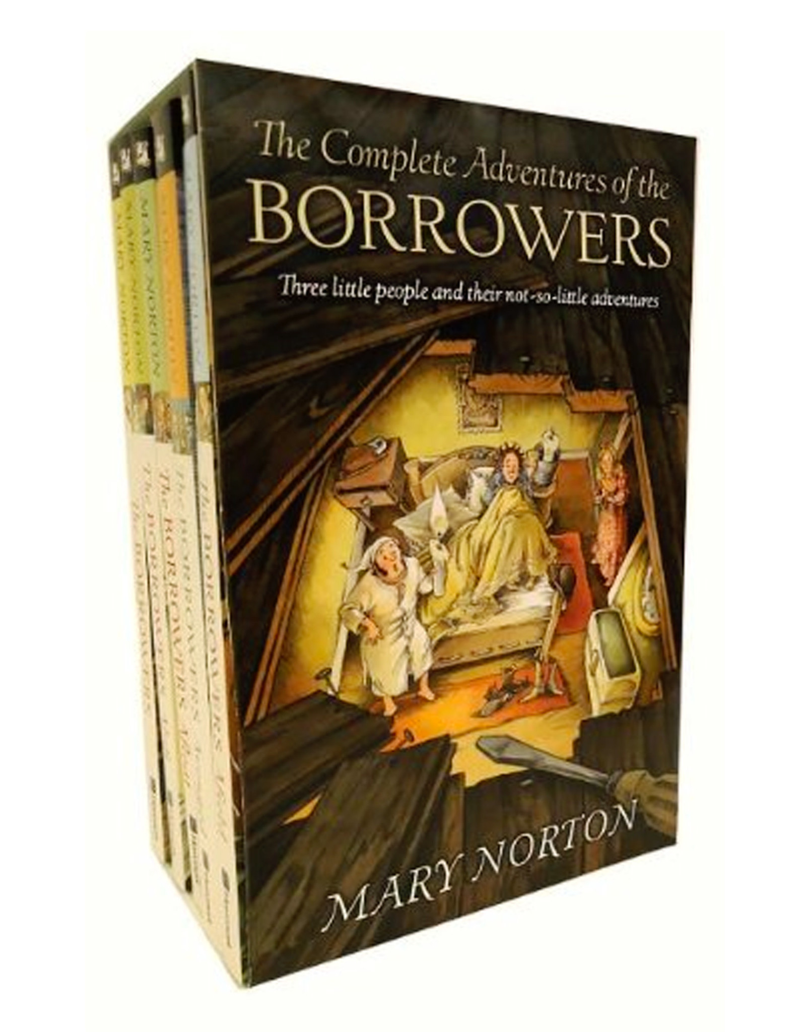 Houghton Miflin Harcourt COMPLETE ADVENTURES OF THE BORROWERS BOX