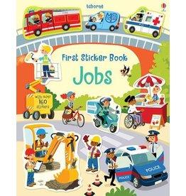 Usborne & Kane Miller Books First Sticker Book, Jobs (IR)