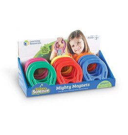 "LEARNING RESOURCES Primary Science 5"" Mighty Magnets,"