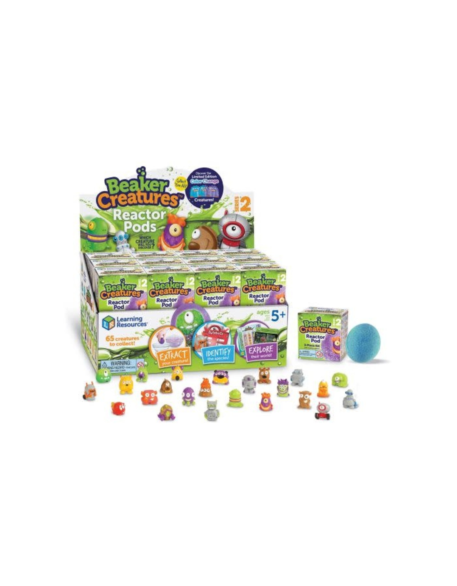 LEARNING RESOURCES Beaker Creatures Series 2 PDQ