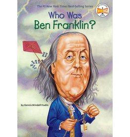 Penguin/Random House WHO WAS BEN FRANKLIN?