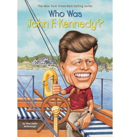 Penguin/Random House WHO WAS JOHN F. KENNEDY?