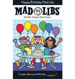 Penguin/Random House HAPPY BIRTHDAY MAD LIBS