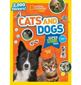 Penguin/Random House NG Cats and Dogs Super Sticker Activity