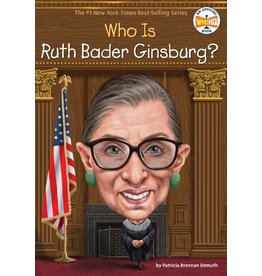Penguin/Random House WHO IS RUTH BADER GINSBURG?