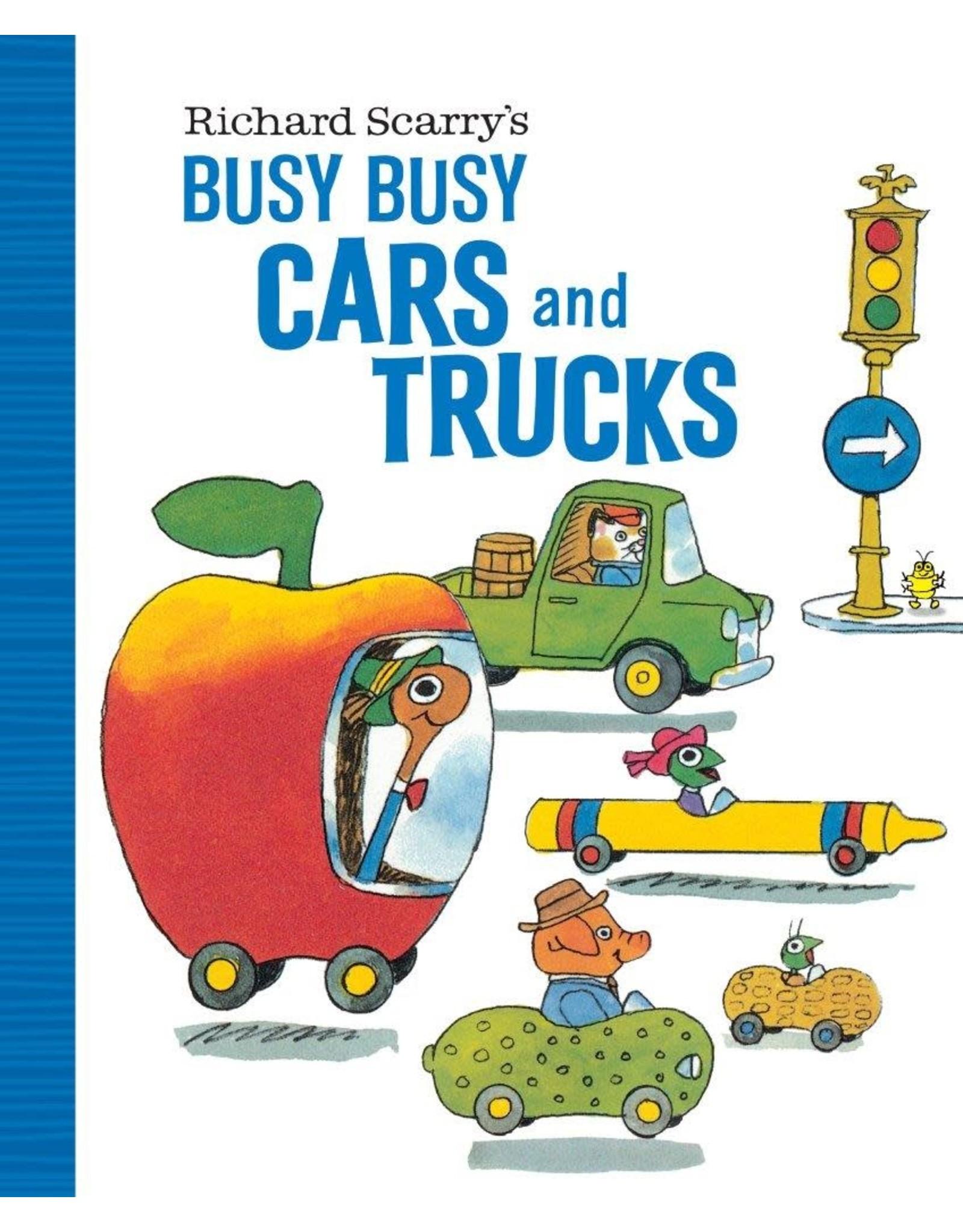 Penguin/Random House BUSY BUSY CARS AND TRUCKS(BRD)