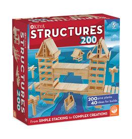 Mindware KEVA: STRUCTURES 200 PIECE