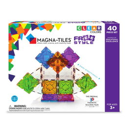 Magna-Tiles Magna-Tiles FreeStyle 40 Piece Set