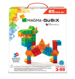 Magna-Tiles Magna-Qubix 85 Piece Set
