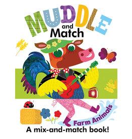 Usborne & Kane Miller Books Muddle & Match: Farm Animals