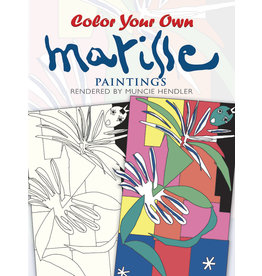 DOVER PUBLICATIONS INC Hendler-Color Your Own Matisse Paintings