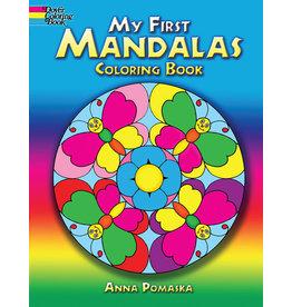 DOVER PUBLICATIONS INC Pomaska-My First Mandalas Coloring Book
