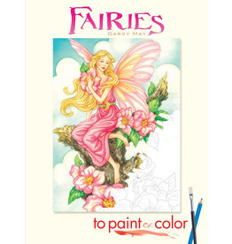 DOVER PUBLICATIONS INC May - Fairies to Paint or Color