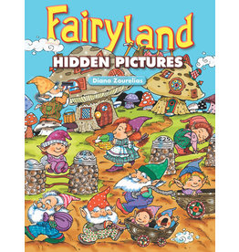 DOVER PUBLICATIONS INC Zourelias - Fairyland Hidden Pictures