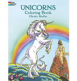 DOVER PUBLICATIONS INC Shaffer-Unicorns Coloring Book