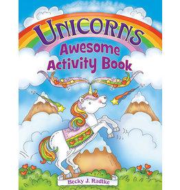 DOVER PUBLICATIONS INC Radtke-Unicorns Awesome Activity Book